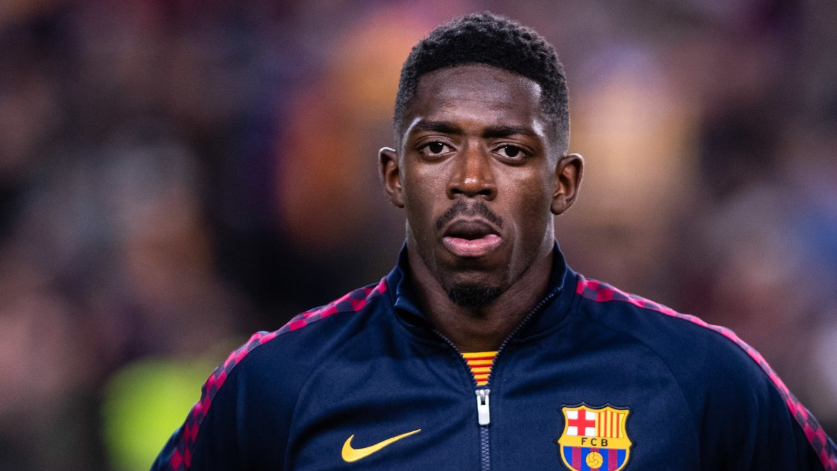 Ousmane Dembele could be headed to Old Trafford on a loan deal