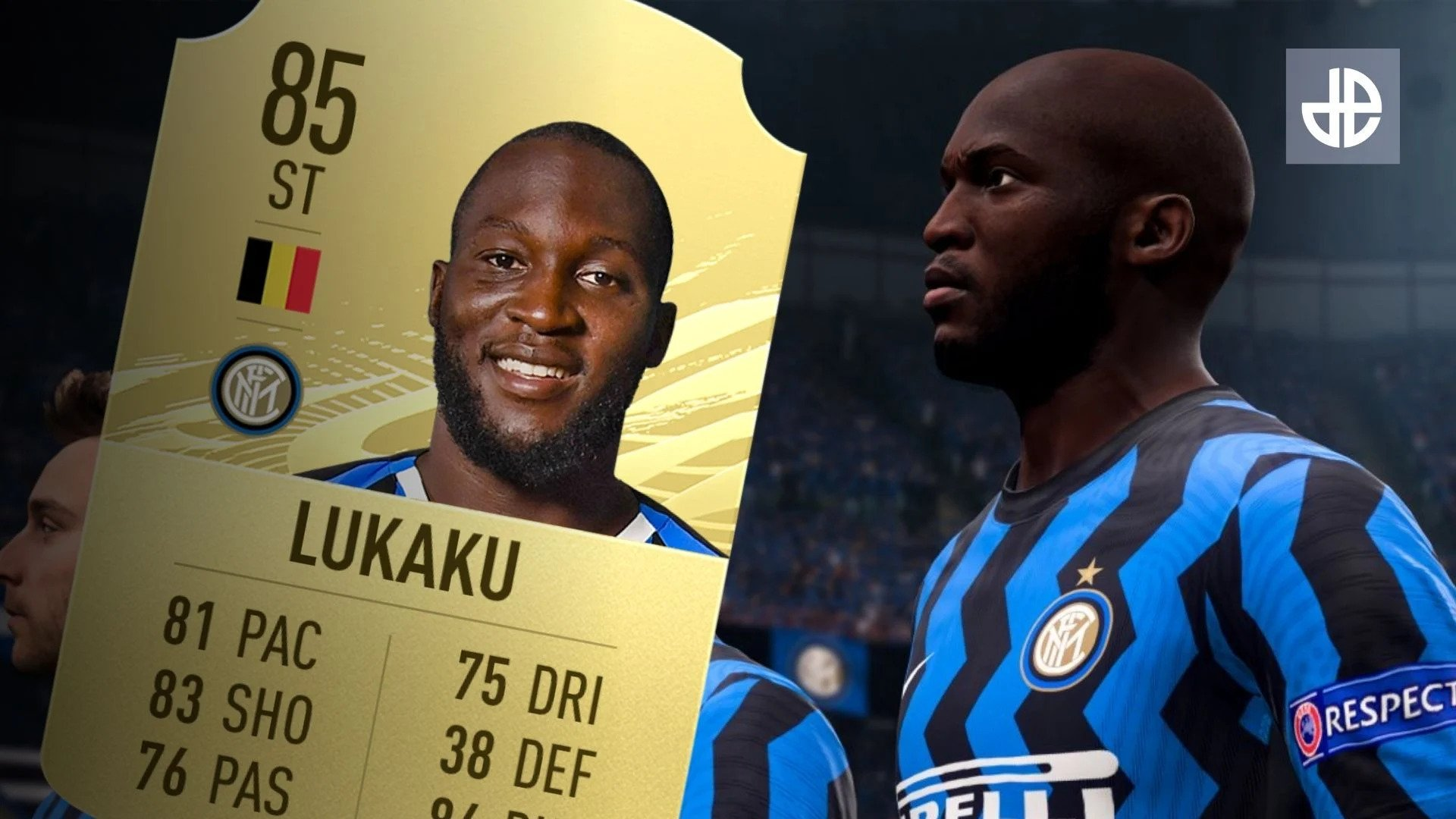Inter Milan forward Romelu Lukaku has slammed the makers of FIFA21, going on a twitter rant after he was downgraded by one percentage point.