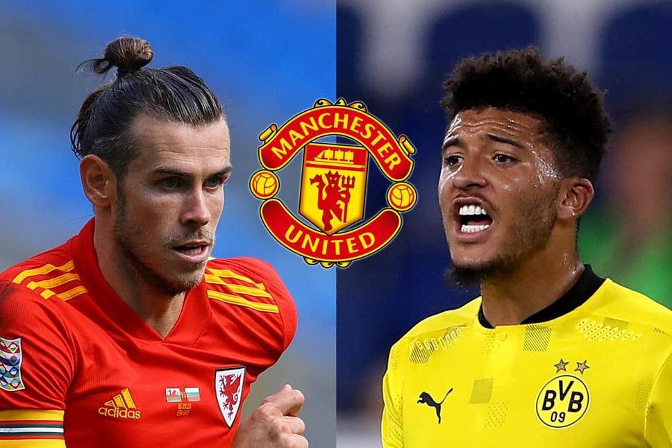 Manchester United target Gareth Bale as Jadon Sancho interest cools off