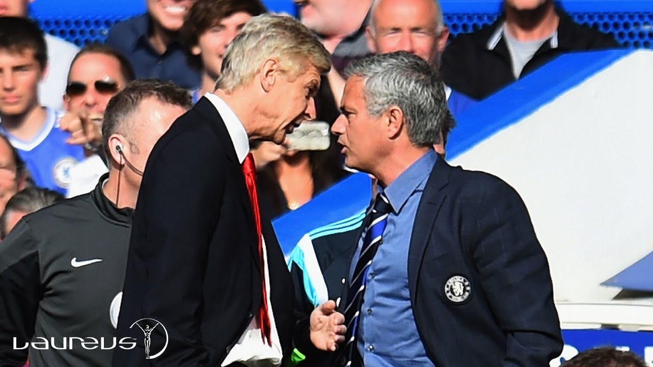 There is no love lost between Arsene Wenger and Jose Mourinho.