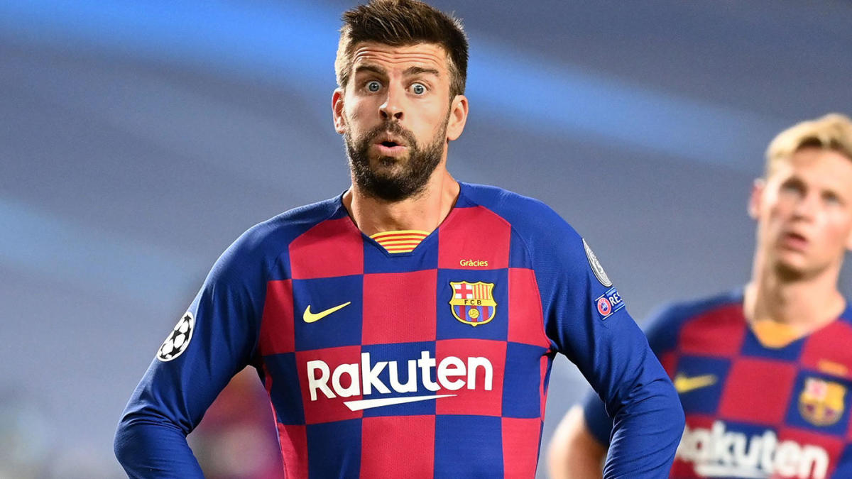 Gerard Pique 'at the centre of Barcelona dressing room split' after signing shock new contract