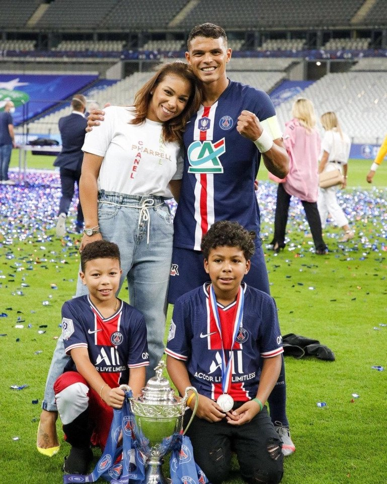 Chelsea's 36-year-old defender Thiago Silva is being asked to have a vasectomy by his wife, mum of two Isabelle da Silva, who refuses to undergo female sterilisation surgery because their family has a history of obesity.