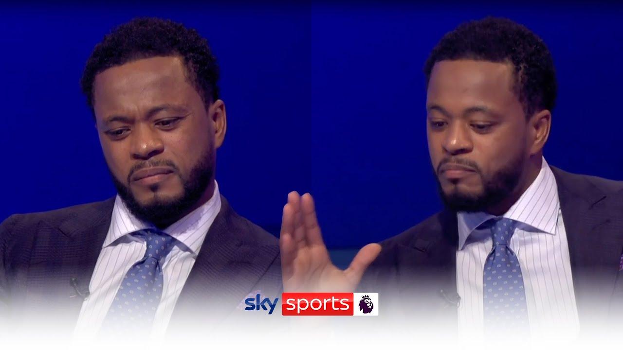 Patrice Evra on Sky Sports