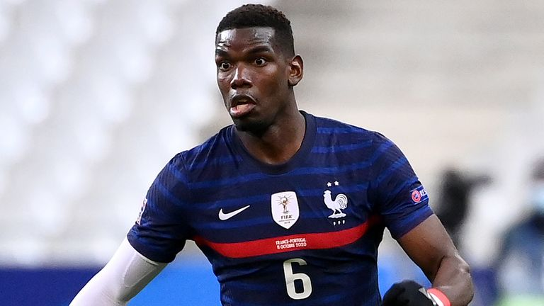 Paul Pogba in sly dig at United, says playing with France is 'breath of fresh air'