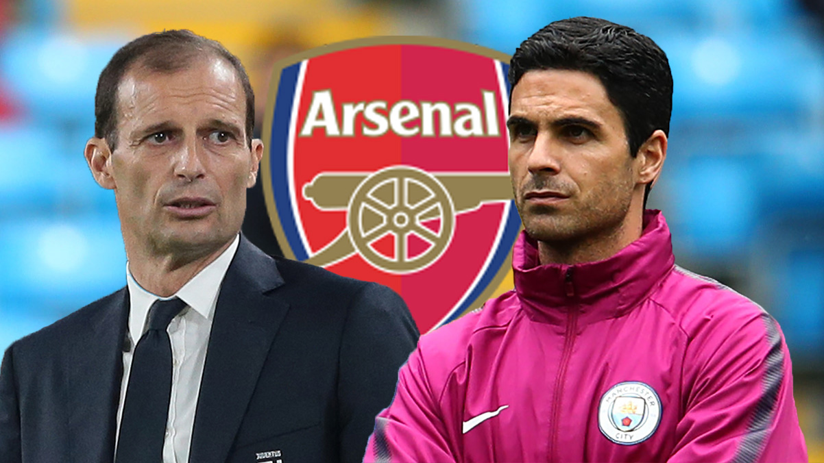 Allegri favourite to be appointed if Arteta is sacked by Arsenal