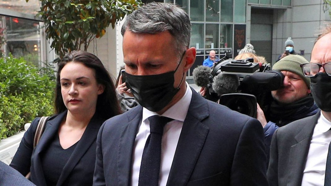 Ryan Giggs appeared in court on Wednesday to deny charges of assaulting his ex-girlfriend and her sister and controlling or coercive behaviour.